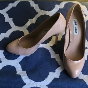 3 in Ballet Pink Patent Pumps
